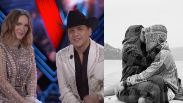 Belinda dice Te amo Christian Nodal en romántico video