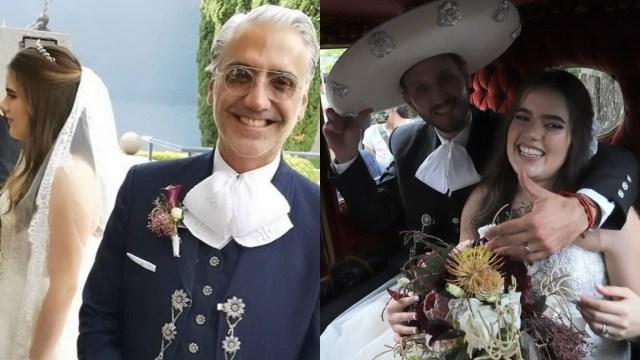Camila Fernández: La boda de la hija de Alejandro Fernández