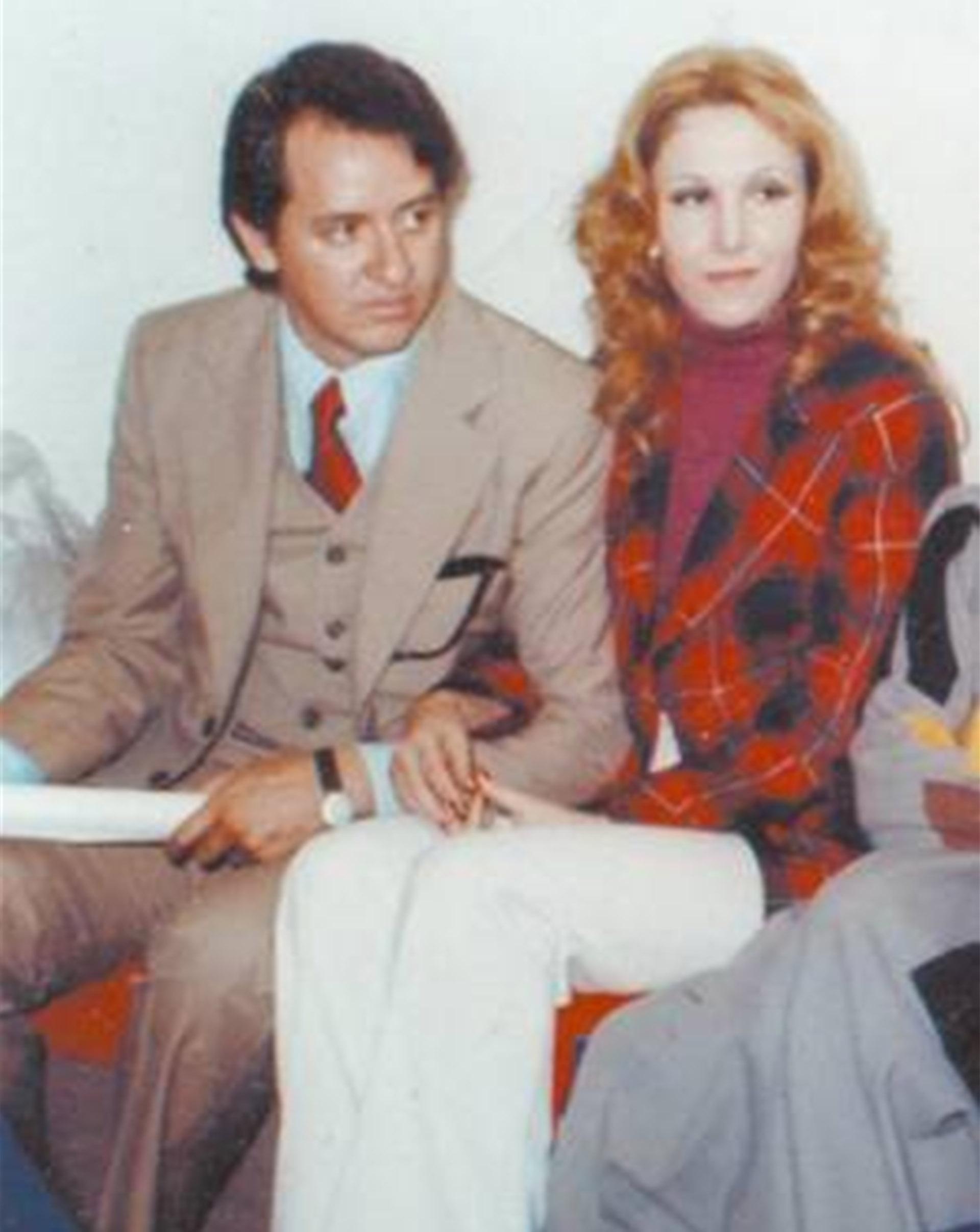 Carlos Villagrán y Florinda Meza fueron novios de verdad