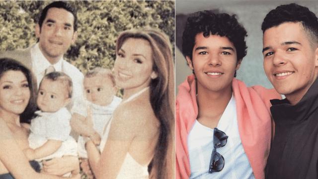 Itati Cantoral celebra el cumpleaños 20 de sus gemelitos que son igualitos al papá