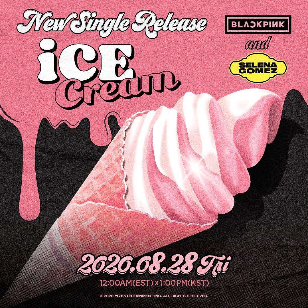 Revelan detalles BLACKPINK Selena Gomez canción Ice Cream