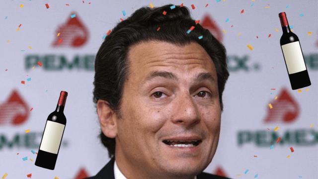 Emilio Lozoya celebra su libertad con fiesta en su casa y vino carísimo