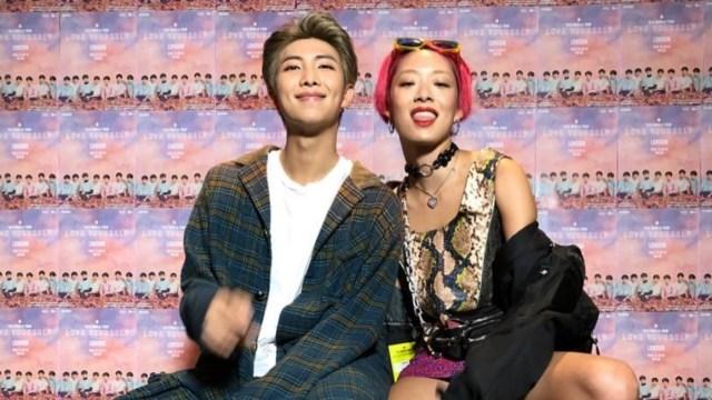 RM podría hacer colaboración nueva en dueto Rina Sawayama