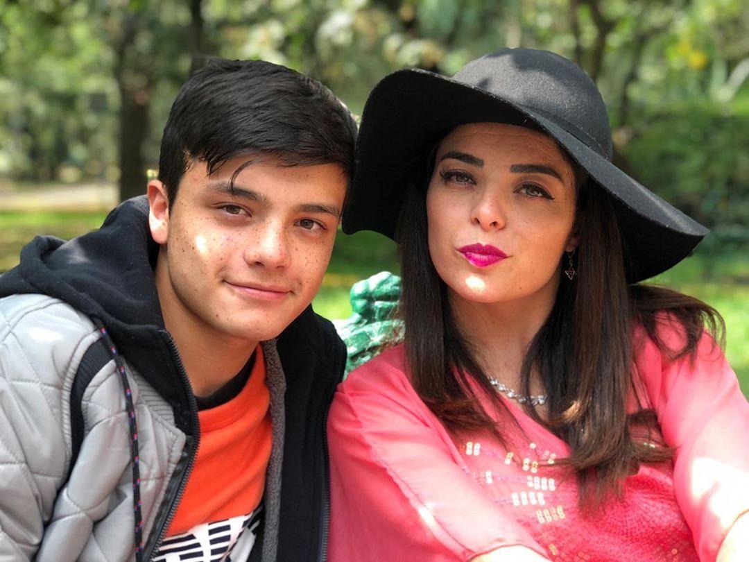 Violeta Isfel reveló cómo reaccionó su hijo a su foto íntima