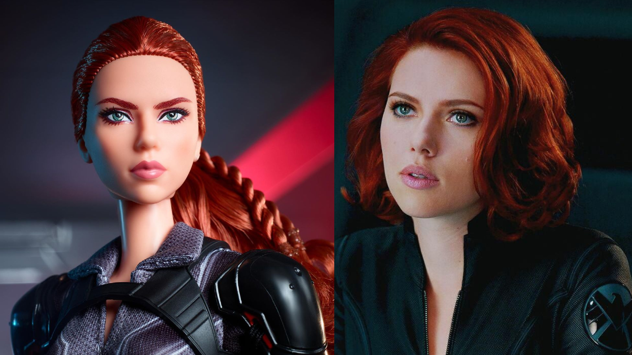 Black Widow versiones Barbie