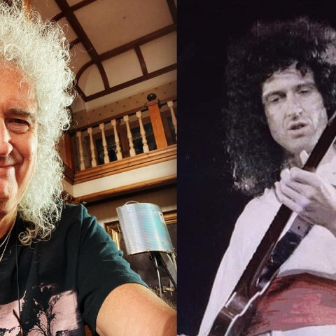 Brian May guitarrista Queen