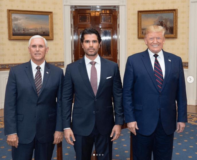 Eduardo verastegui Donald Trump