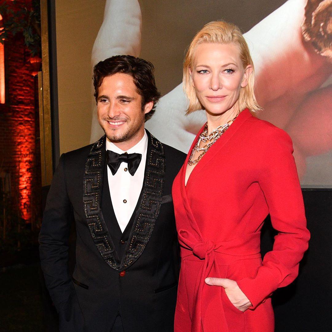 Diego Bonetta y Cate Blanchett