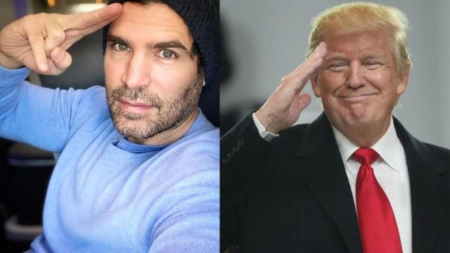 Eduardo Verástegui Donald Trump