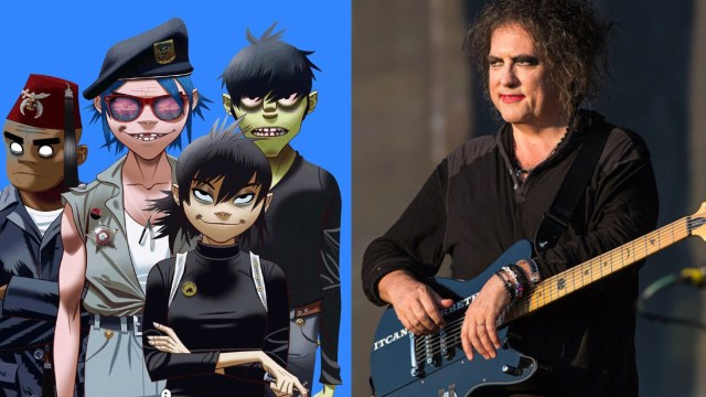 Gorillaz Robert Smith Colaboración