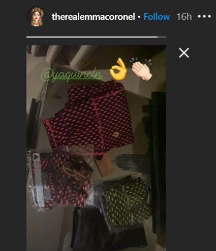 Historia Emma Coronel Instagram