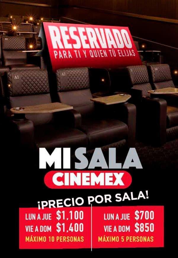Ahora puedes rentar una sala de cine para ti y tus amigos