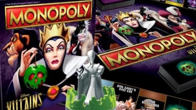 Lanzan Monopoly Hasbro Villanos Disney