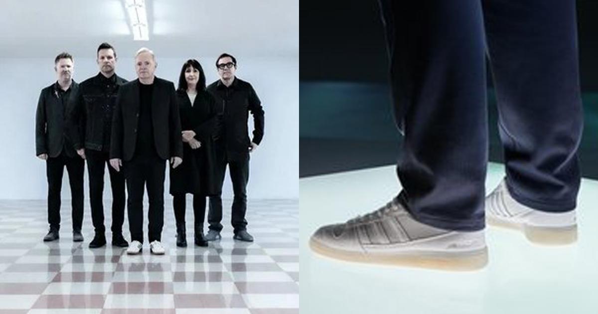 New Order lanza colaboración con Adidas