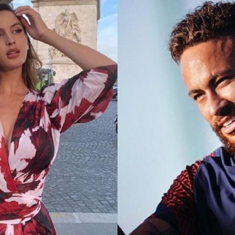 Neymar y Natalia Barulich comparten su primera foto juntos