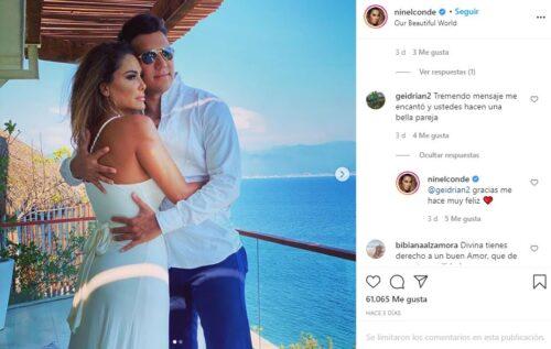 Ninel Conde presume su nuevo amor en Instagram