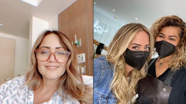 """Andrea Legarreta sorprende con un nuevo look para regresar a """"Hoy"""""""