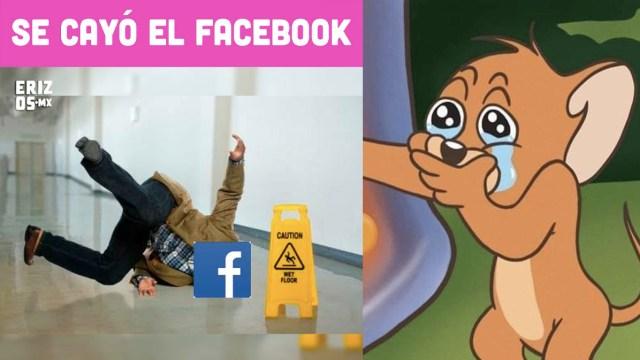 Los mejores 12 memes de la caída de Facebook