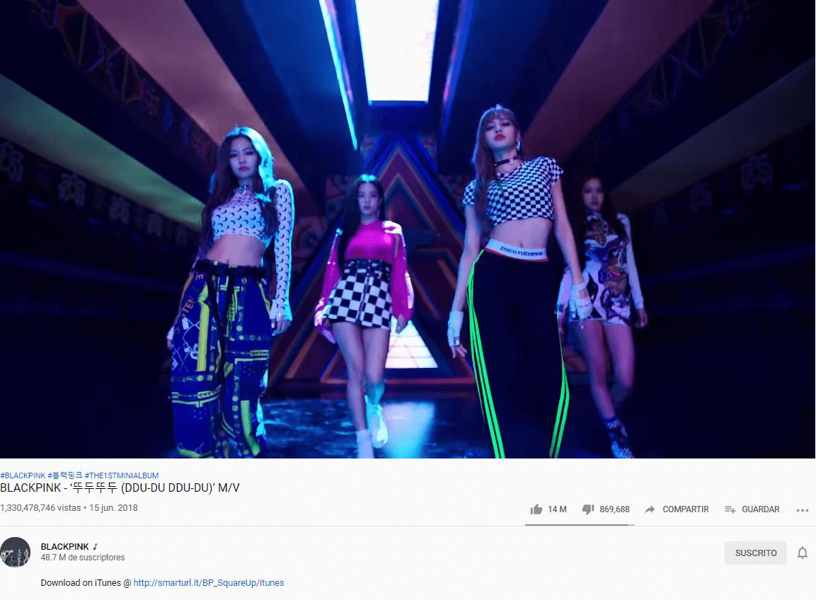 BLACKPINK es el grupo de KPop en llegar más rápido al millón de dislikes en YouTube