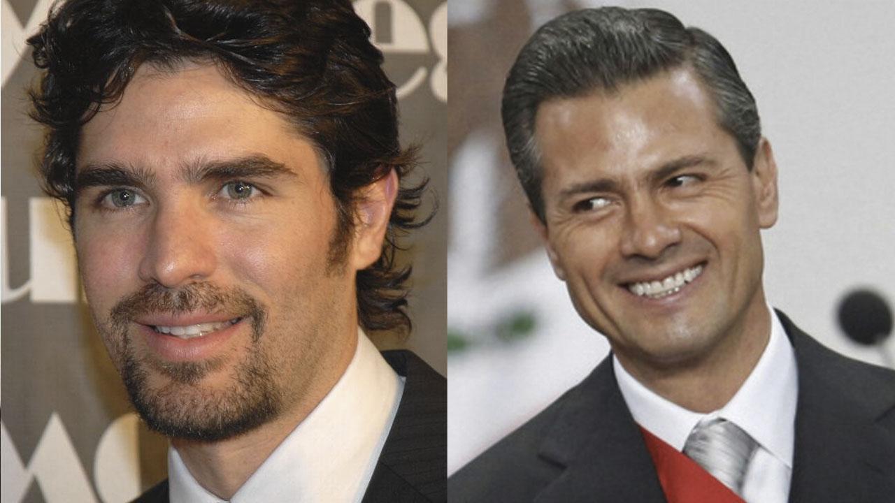 Eduardo Verastegui Enrique Peña Nieto