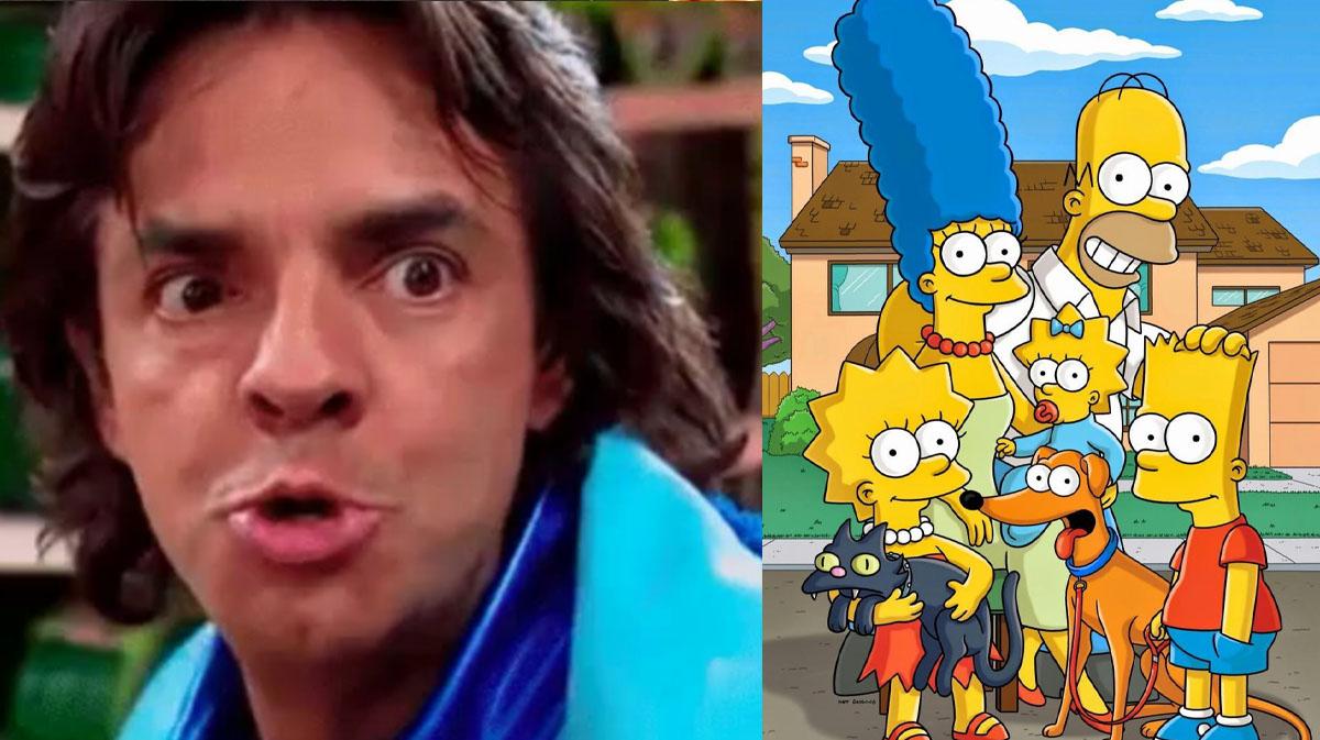Ludovico cambia el P. Luche por el Simpson y así luce como habitante de Springfield