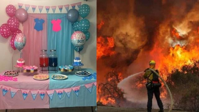 Fiesta de revelación de género del bebé causa incendio forestal por pirotecnia