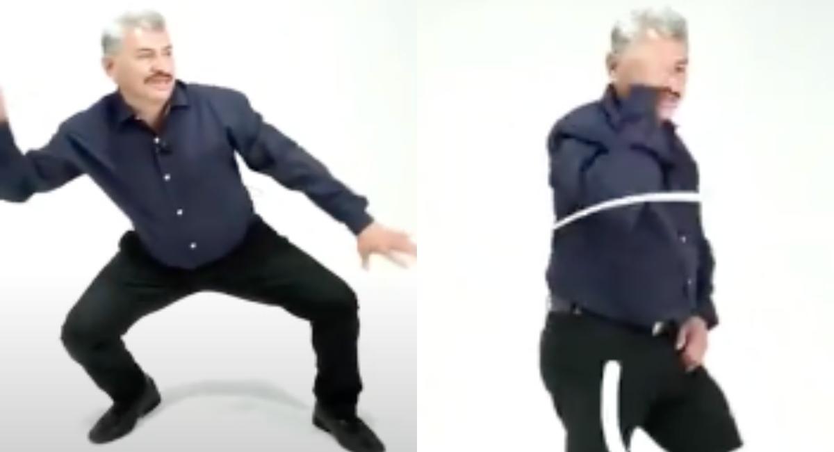 Lobo Vázquez ahora da clases de baile en línea y gratis