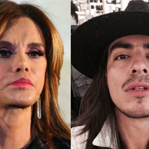 Lucía Méndez golpea al Rey Grupero por intentar besarla