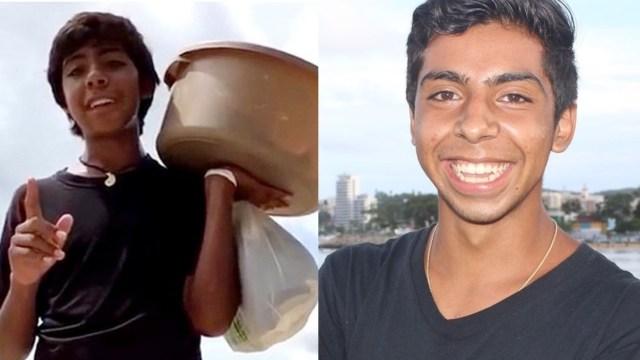 El niño de las empanadas aparece en TikTok para hacer videos de ventas