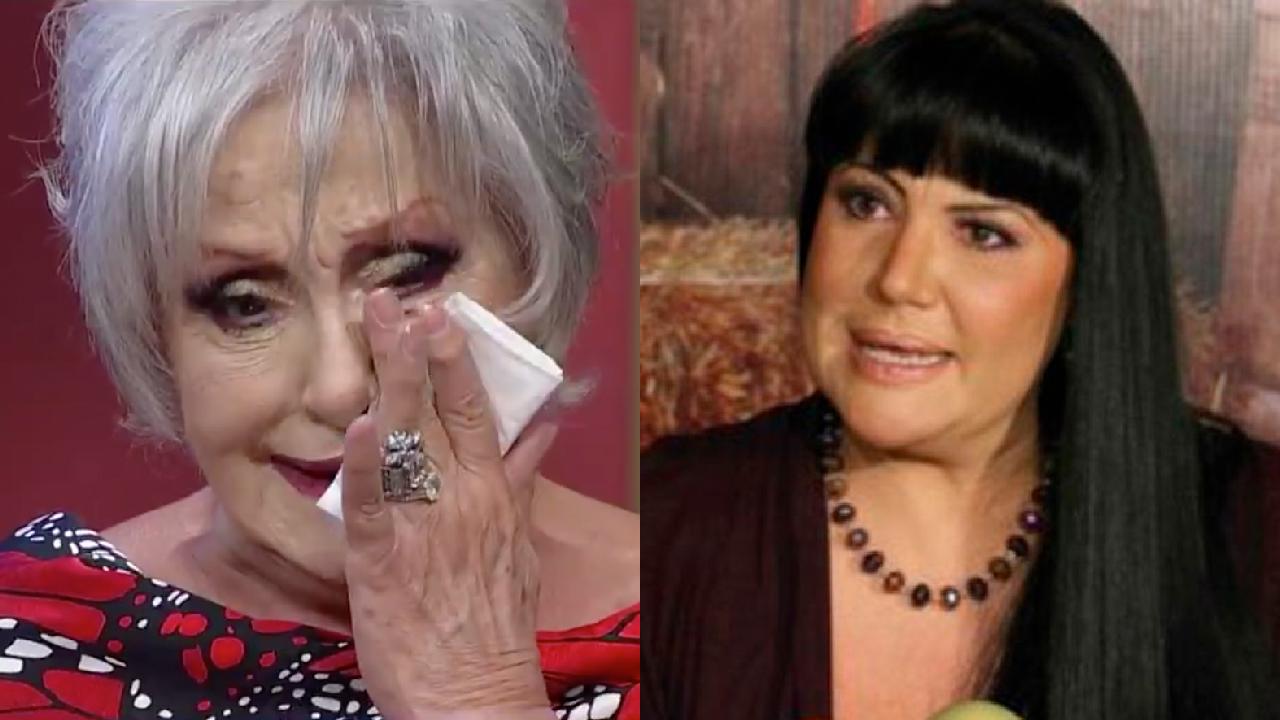 Anel llorando y Alejandra Ávalos enojada
