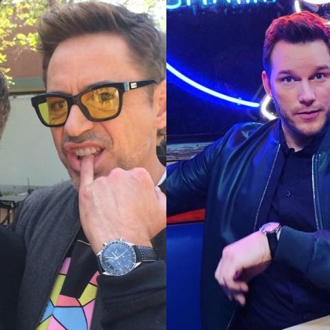 Avengers muestran su apoyo al actor