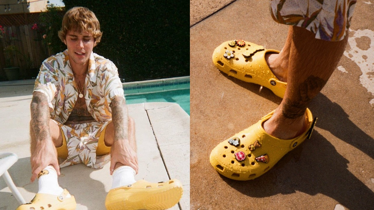 Justin Bieber diseña sus Crocs