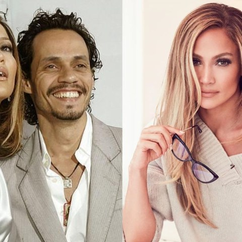 Jennifer Lopez con Marc Anthony