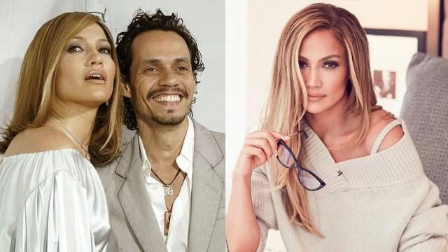 Jennifer Lopez con Marc Anthony