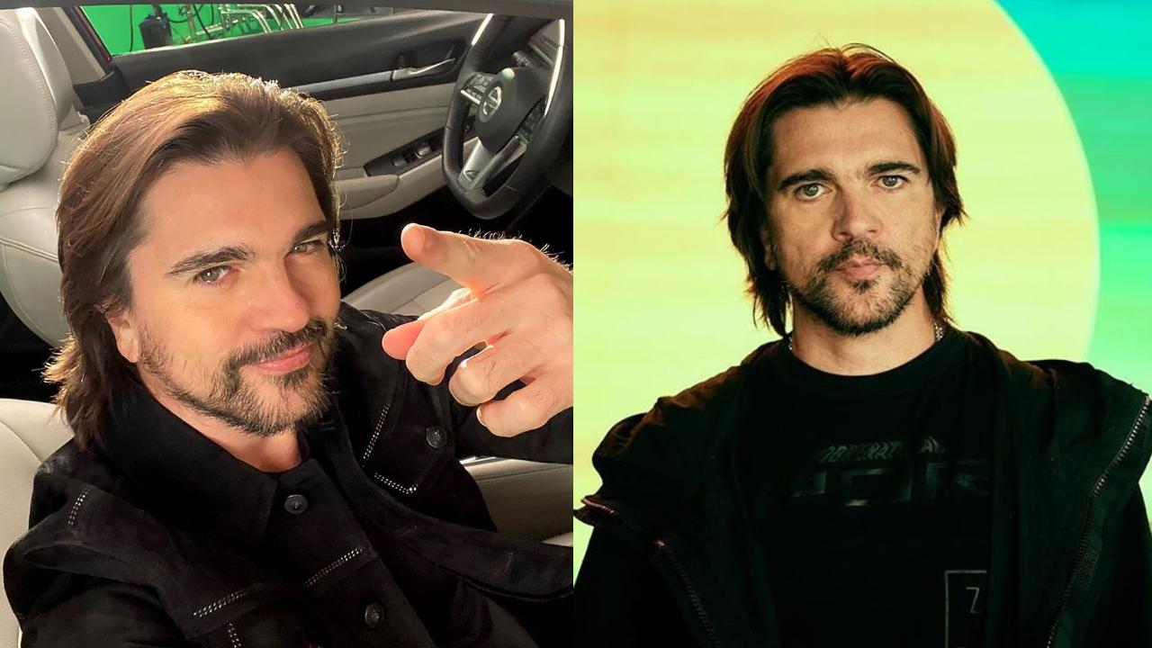 Juanes fue sorprendido por la policia