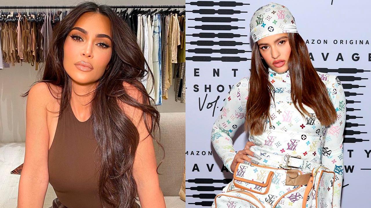 Kim Kardashian y La Rosalía