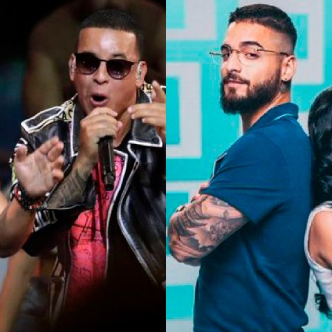 Maluma Daddy Yankee Luis Fonsi en los Latin Billboard 2020