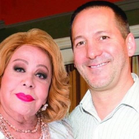 Silvia Pinal y su hijo antes de la herencia