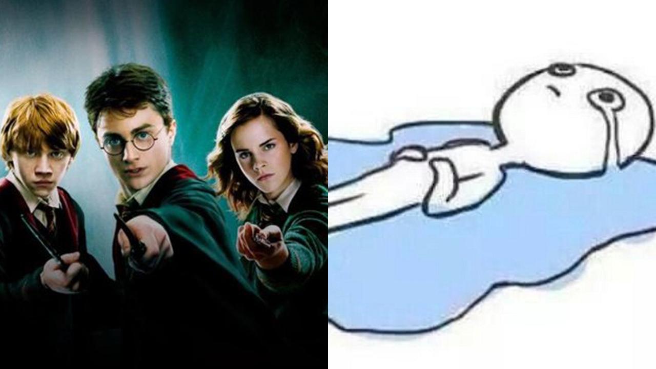 Fans llorando por salida de Harry Potter de Netflix