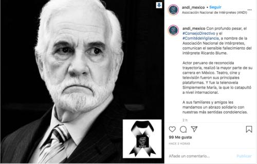 Ricardo Blume instagram