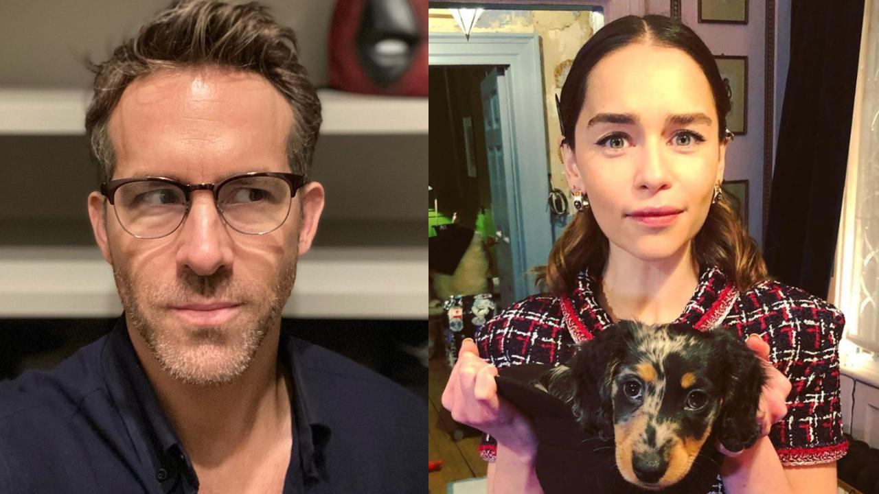 Ryan Reynols enojado con Emilia