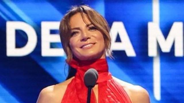 Silvia Navarro en los premios billboard 2020