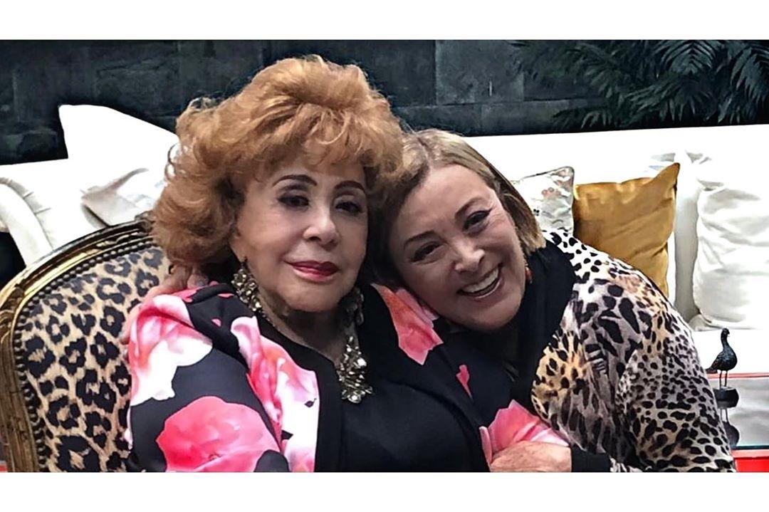 Sylvia Pasquel niega Covid-19 de Silvia Pinal