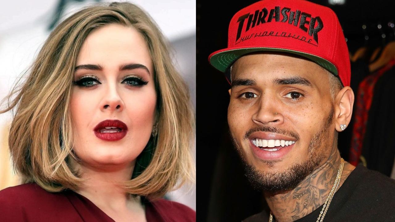 Adele Y Chris Brown Desatan Rumores De Relacion Tras Una Cita En Su Casa