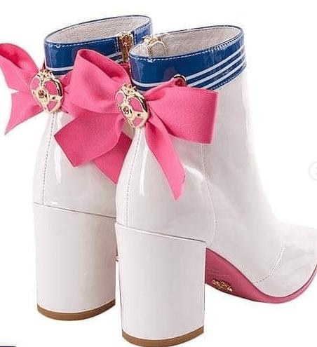 Botas Sailor Moon blancas Serena