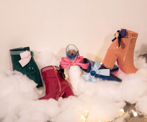 Botines Sailor Moon colores