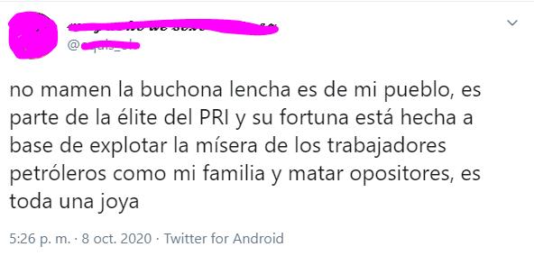 Damara Gómez la buchona de tik tok que pertenece al PRI