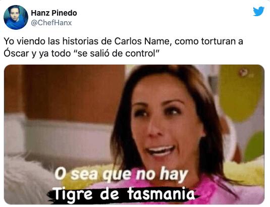 Meme Carlos name tigre