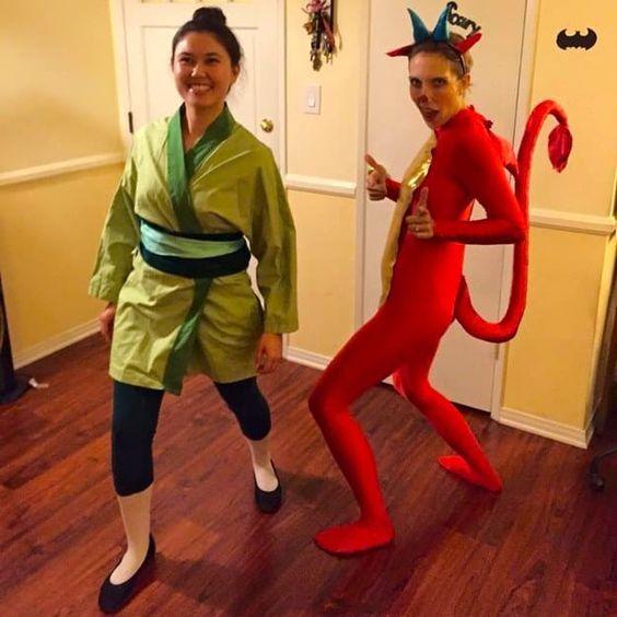 Disfraz pareja Mulan