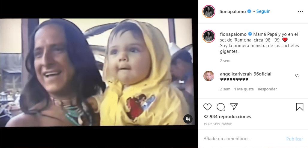 Fiona Palomo, hija de Eduardo Palomo, comparte una foto inédita del actor